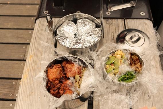 公園でお弁当20140330
