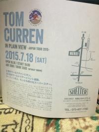 トム・カレン 和歌山に来る 2