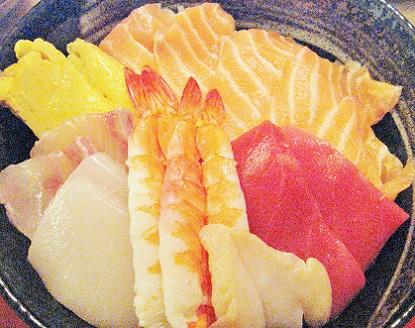 海鮮丼です