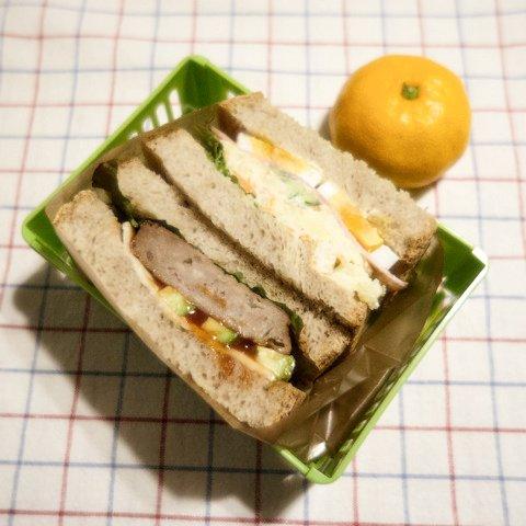 20150115自分のお弁当
