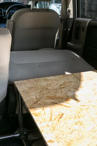 車中泊ベッド6