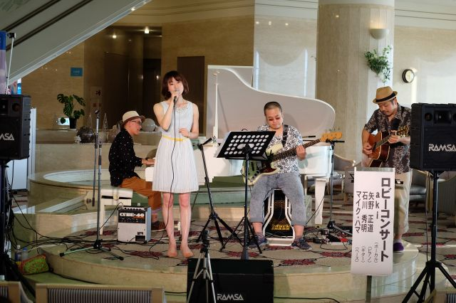 Aki&Yano@伊良湖ロビーコンサート