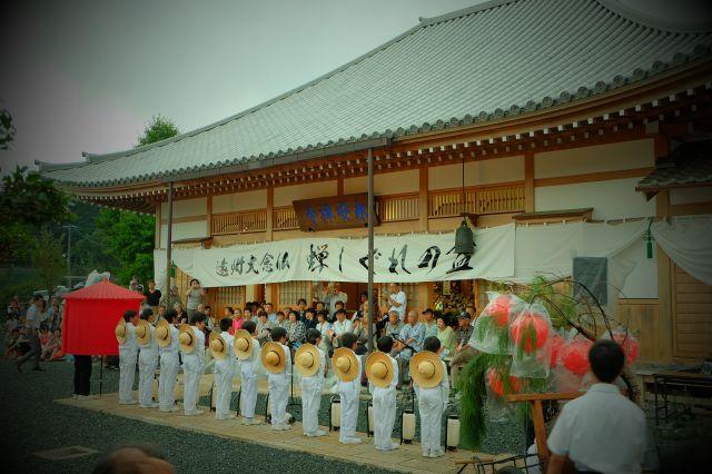 遠州大念仏「蝉しぐれの盆」3