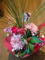由美ちゃんからお花