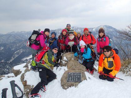 20150211鎌ヶ岳07