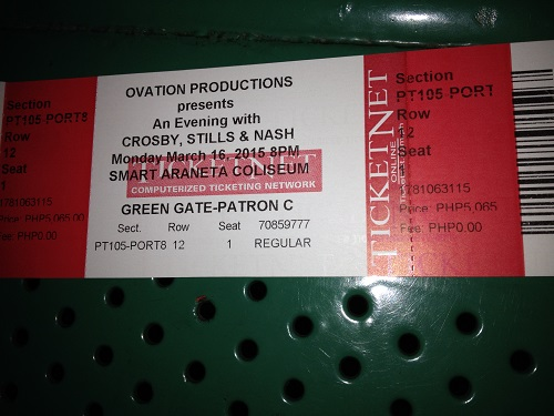 ticket 500
