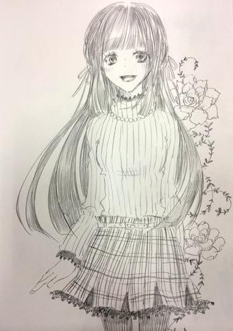 縦セーターな女の子(´ω`*)