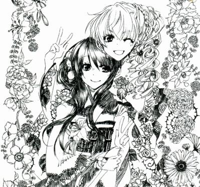 薔薇姫&百合姫、晴れ姿!