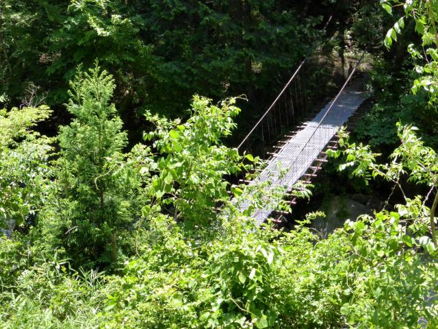 宮地の吊橋1
