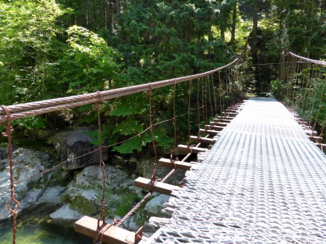 宮地の吊橋5