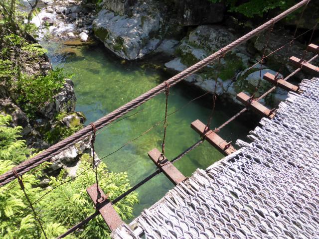 宮地の吊橋6