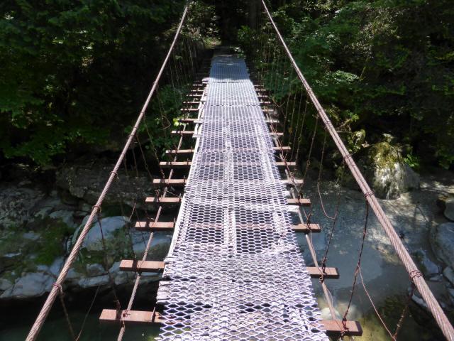 宮地の吊橋7