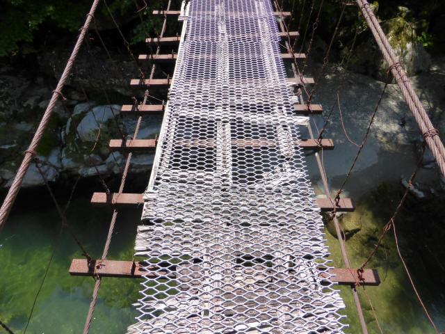 宮地の吊橋8