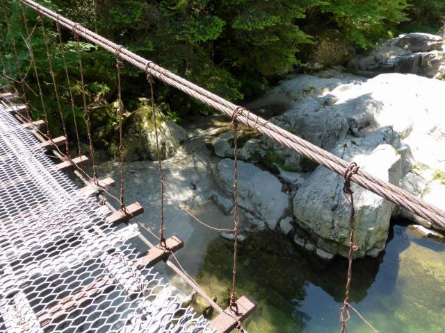 宮地の吊橋9