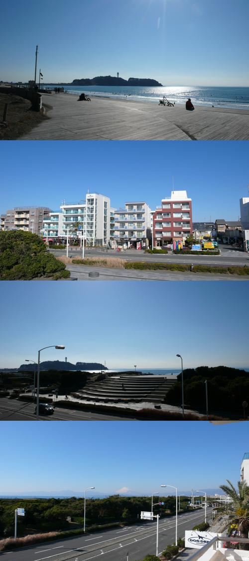 ■物件番号3933 鵠沼海岸!部屋から海一望!激レア!2Kマンション!34平米!8.1万円!