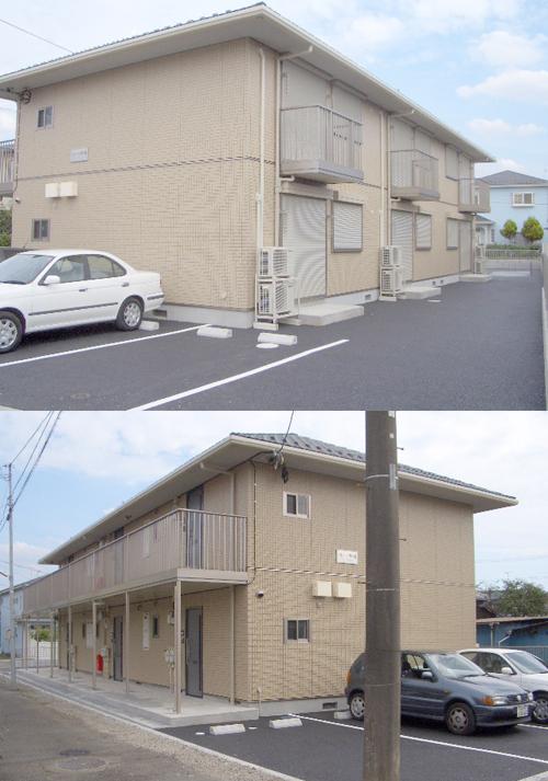 ■物件番号4240 茅ヶ崎海側!海5分!駐車場無料1台付の2DKが7.3万円~!まだまだキレイな2006年築!