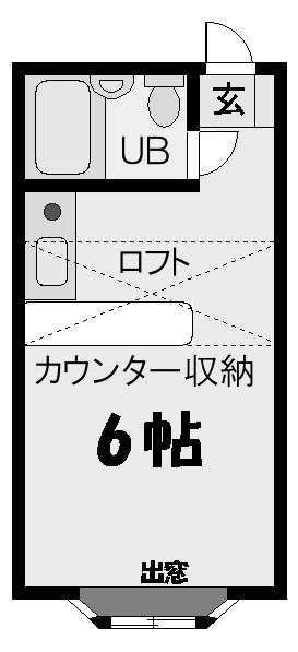 ■物件番号5064 海まで5分!激安1ルーム!パークでサーフィン!ラチエン通り!敷金礼金ゼロ!3.2万円!