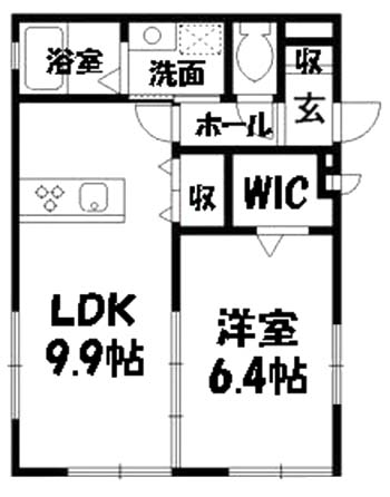 ■物件番号4052 海3分!激安5.5万円の1LDK!1階カド!敷地P有り!ウォークインクローゼット!<br />