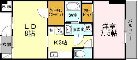 ■物件番号4487 超築浅1LDKマンション!海側!水廻り充実!茅ヶ崎駅徒歩11分!オートロック!8.3万円!