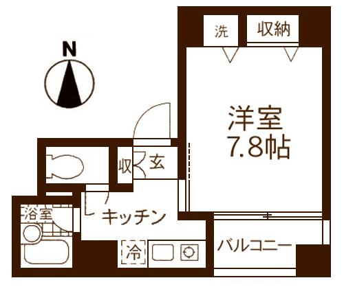 ■物件番号4058 海2分!サーファーズマンション!1K!2階カド!オートロック!屋外シャワー!オシャレ!5.9万円
