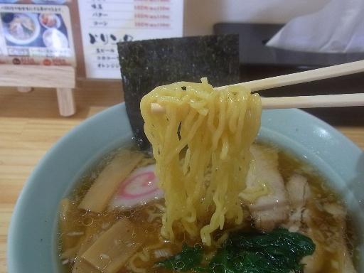ちぢれた細麺