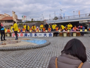 伊東温泉めちゃくちゃ市~干物開き日本一大会\(^o^)/2015.01.24