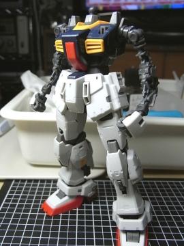 Mk-Ⅱ、下半身パチ完了1