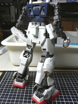 Mk-Ⅱ、下半身パチ完了2