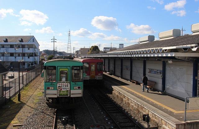 ⑥北条町駅ホーム