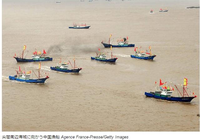 2015-4-4中国の民兵漁船