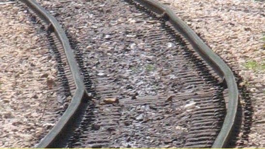 2015-4-14メークロン線のレール