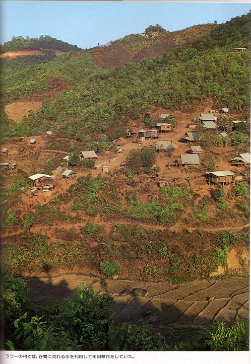 2015-4-22濁流と満月2ラワの村