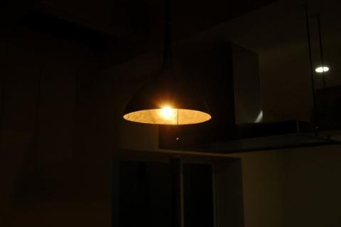 じょうごの照明