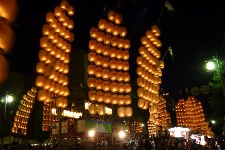 東日本11 秋田県 竿灯まつり