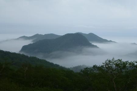 北海道02 知床峠の雲海