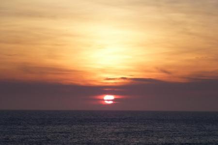 北海道08 礼文島の夕日