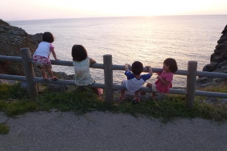九州03-1 長崎県 生月島の夕陽