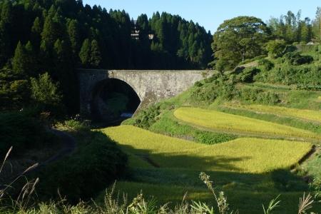 九州06 通潤橋と棚田