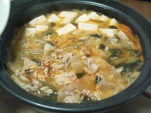 味噌キムチ鍋① (300x225)