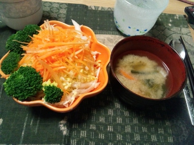 6日夕食① (400x300)