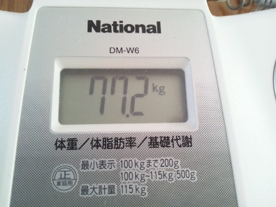 15年4月8日朝体重 (400x300)