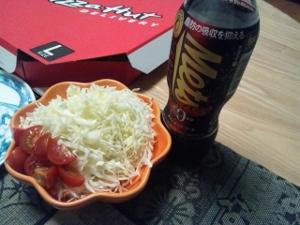 サラダと特保コーラ (300x225)