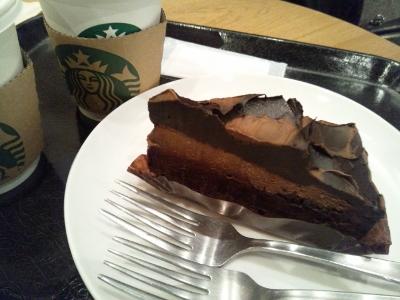スタバ チョコレートケーキ (400x300)
