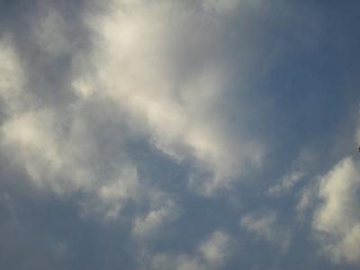 夕暮れの空 (400x300)
