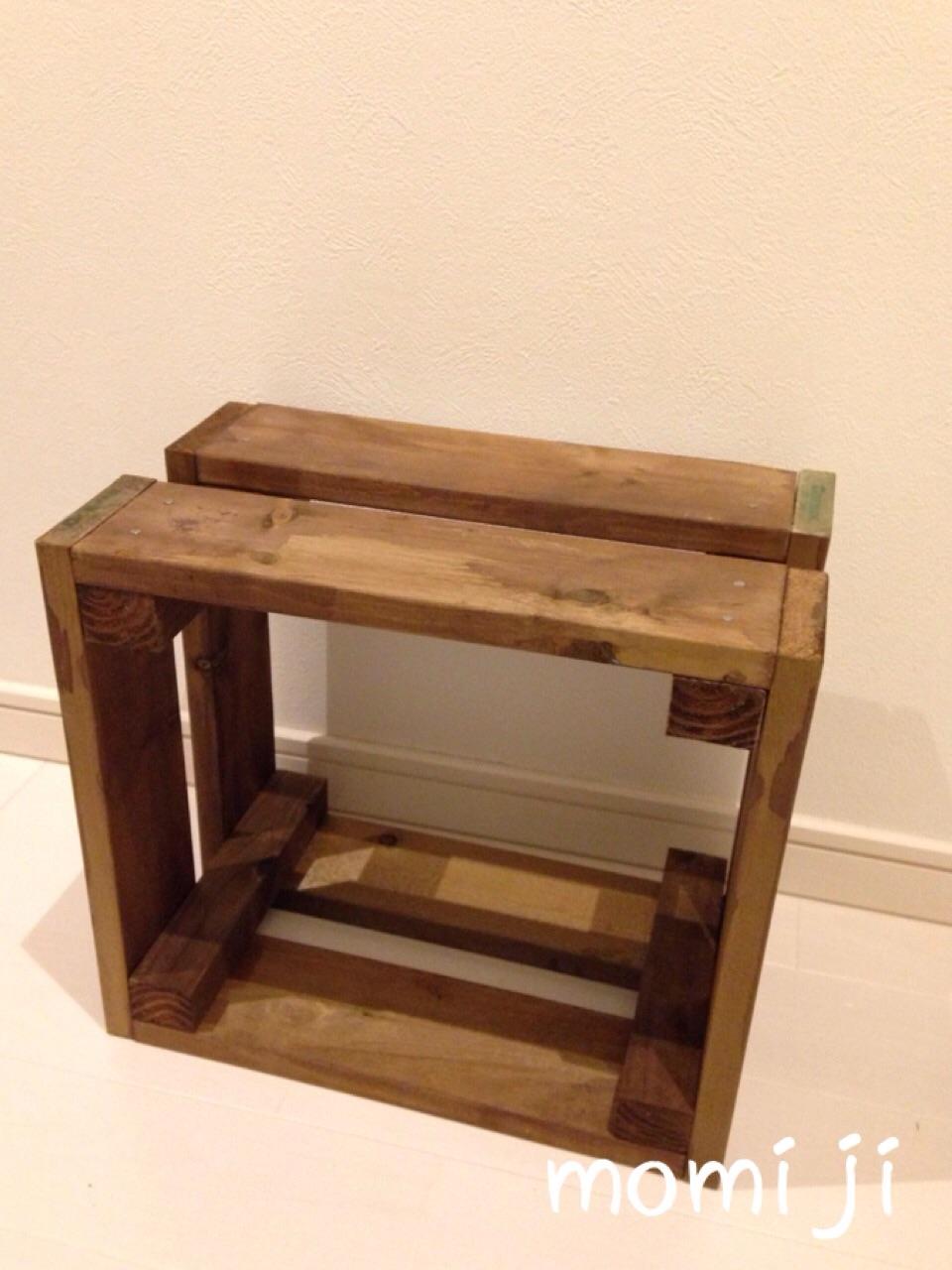 木箱をDIY