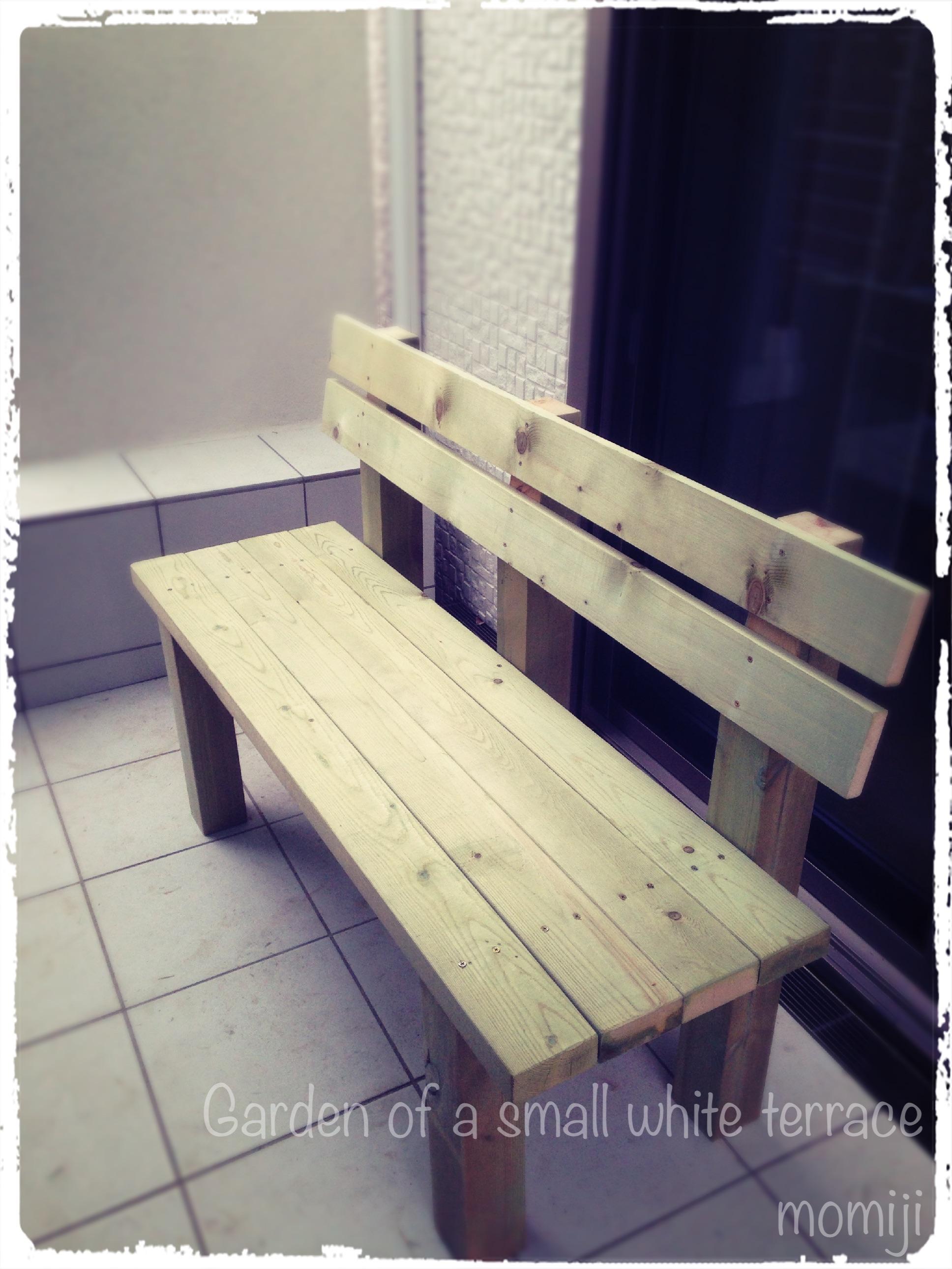 ガーデンベンチ DIY