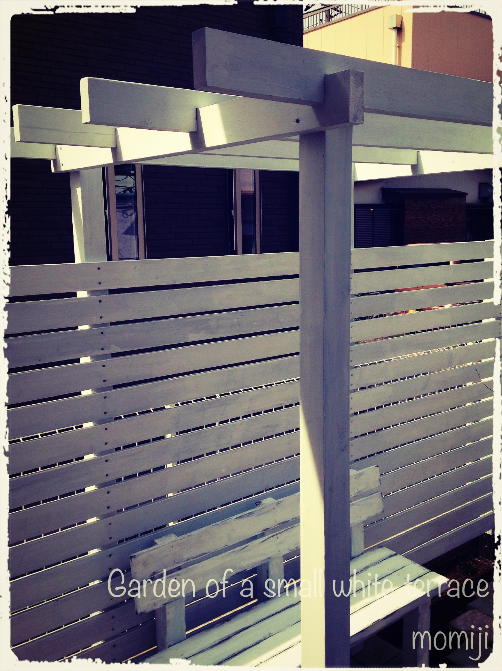 フェンス&パーゴラをDIY