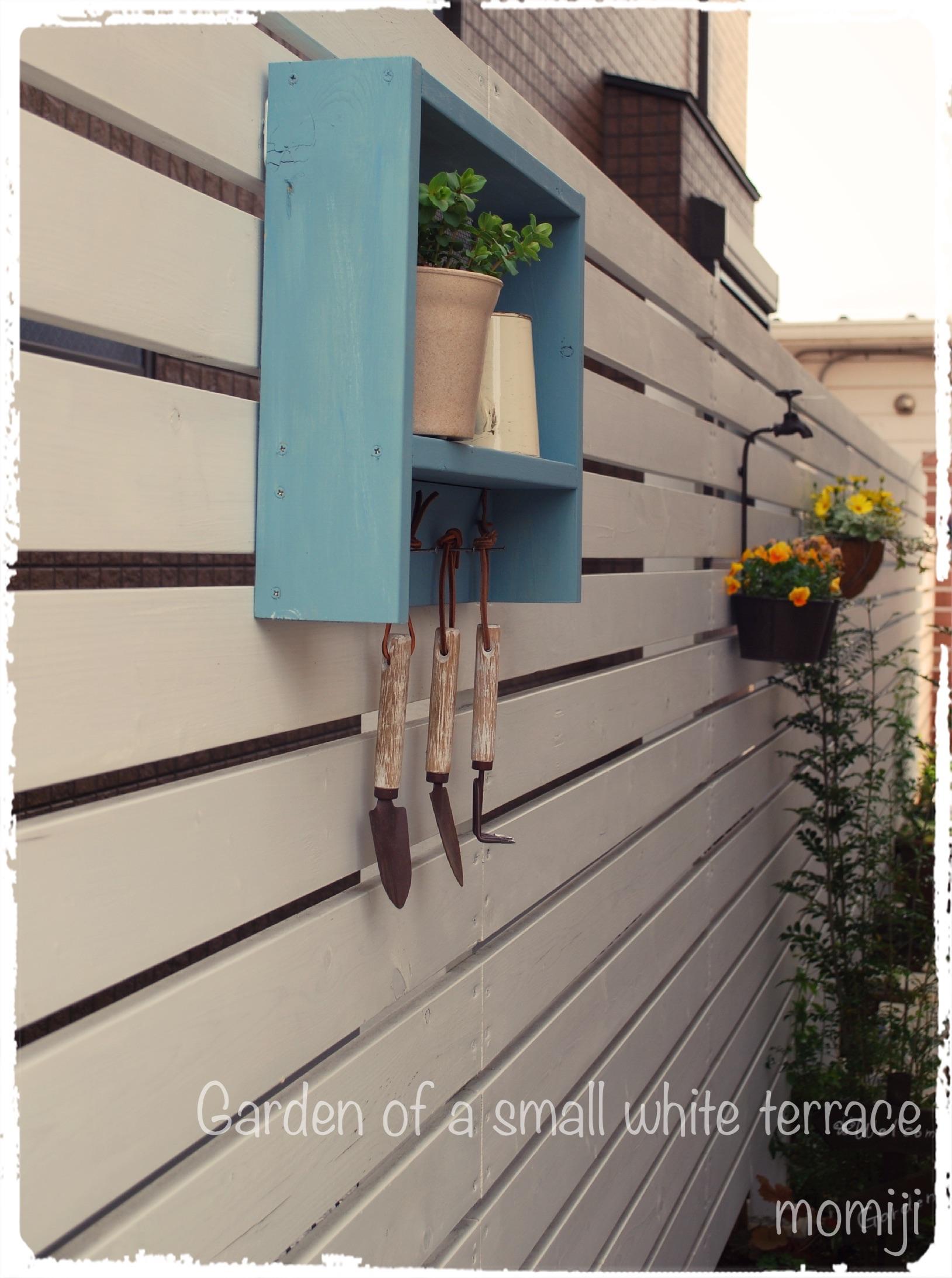 ガーデンシェルフをDIY