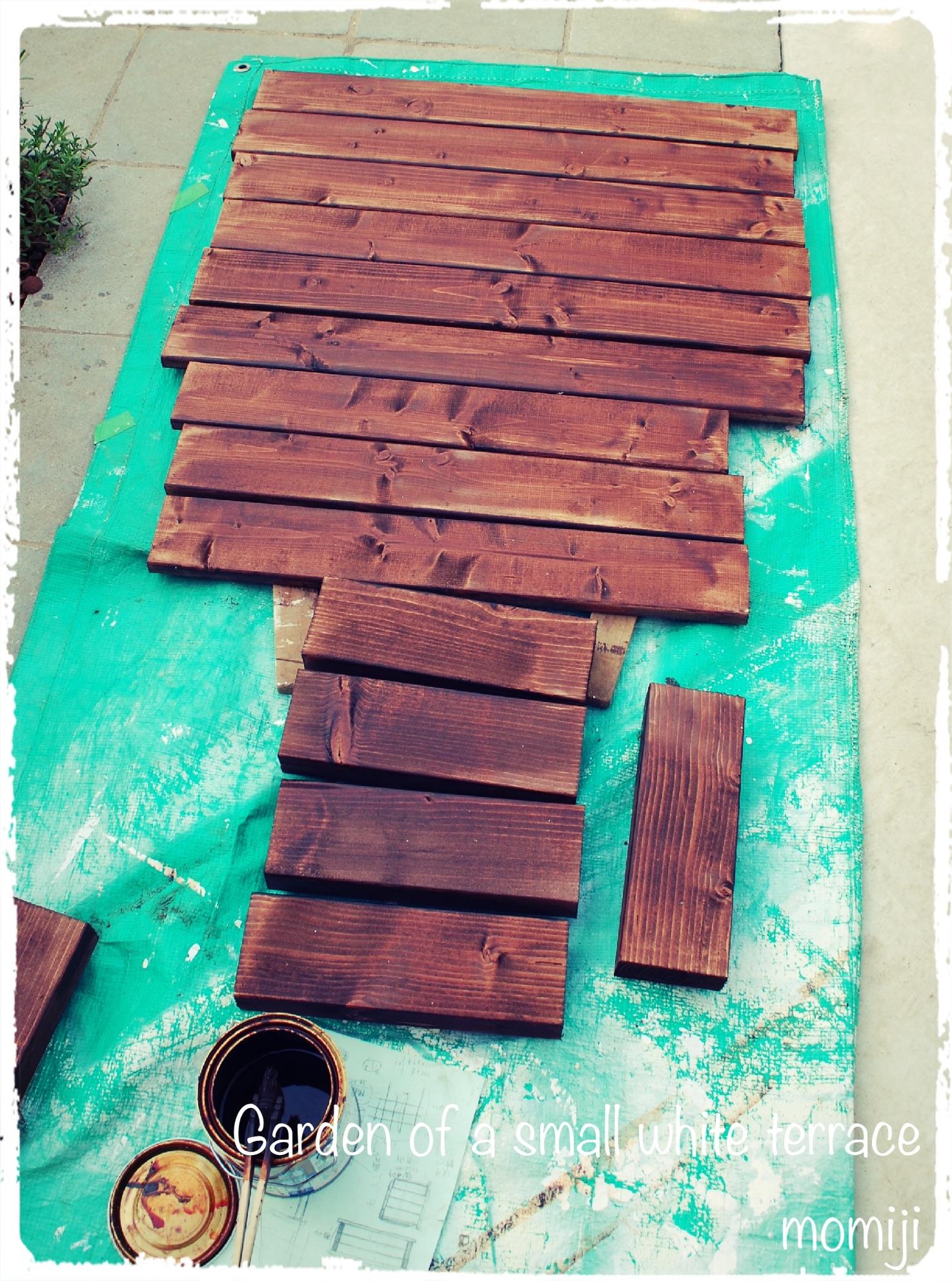 家庭菜園 木製プランター