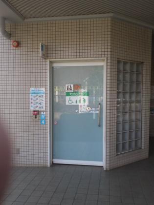 さかさ子供の国トイレ入り口